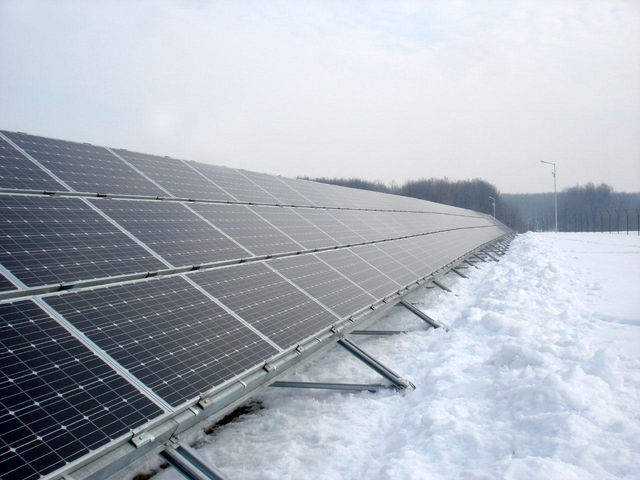 1.0MW Grid-Tied - Romania, Scornicesti