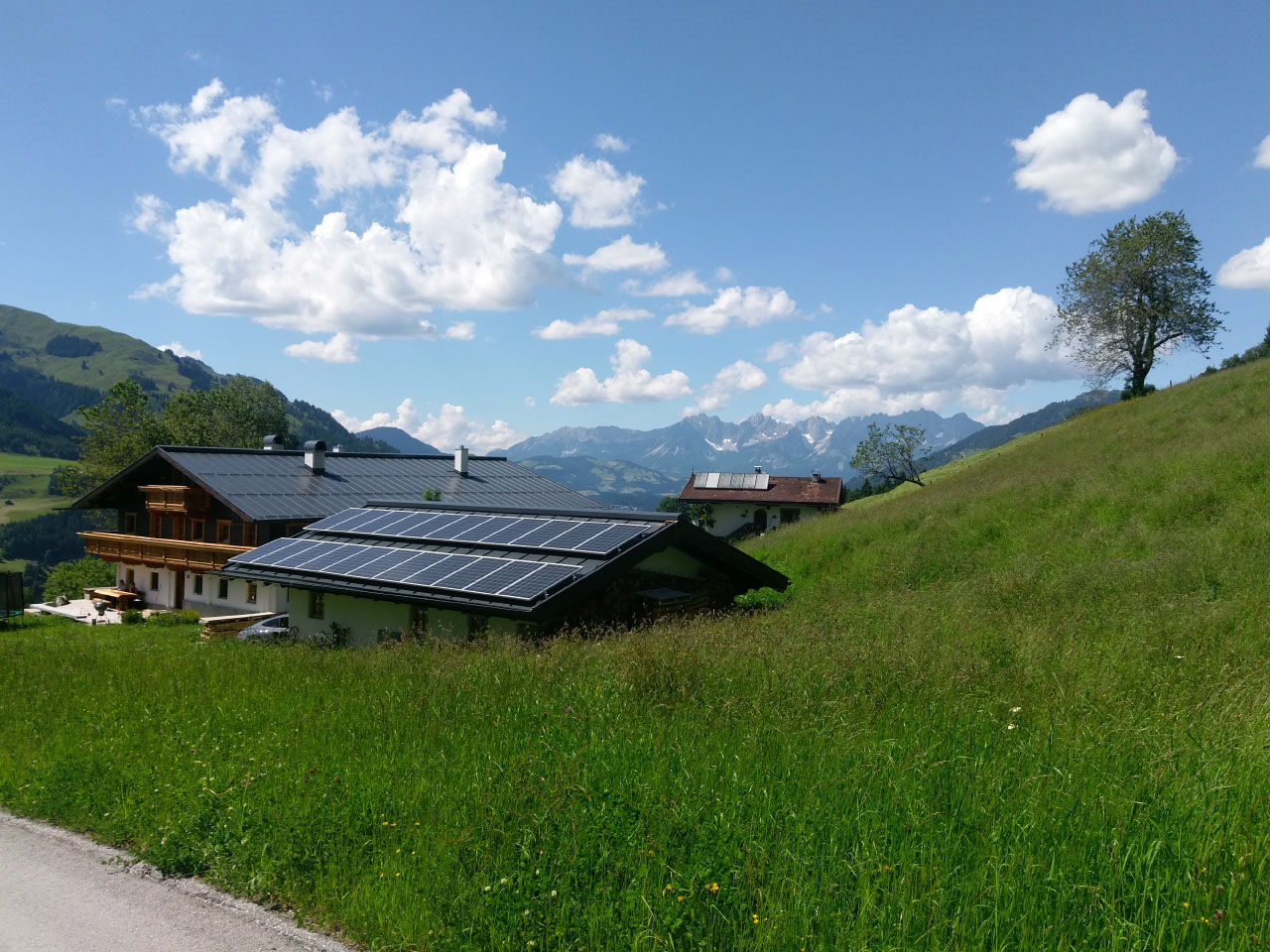 5.0kW Self-Consumption Grid-Tied - Austria, Kitzbuhell